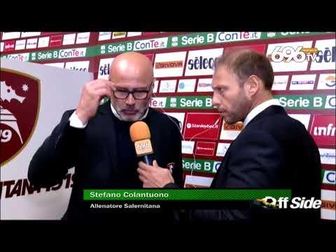 Salernitana   Pro Vercelli 0 0, il commento di Mister Colantuono