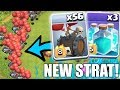 A NEW 3 STAR STRATEGY?? - Clash Of Clans - TOWN HALL 12 3 STAR STRATEGY!