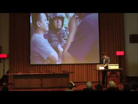 """The theory and Practice of Peace Journalism""   Ass. Prof. Jake Lynch   Bogazici University"