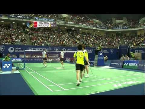 F - WD - Wang X./Yu Y. vs Tian Q./Zhao Y. - 2011 Proton Malaysia Open
