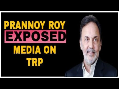 Prannoy Roy Firring speech On Media | And Exposed Media For TRP | NDTV |