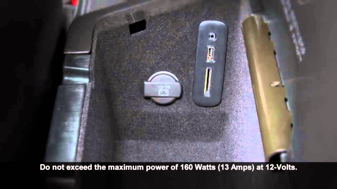 2015 Dodge Challenger | Electrical Power Outlets