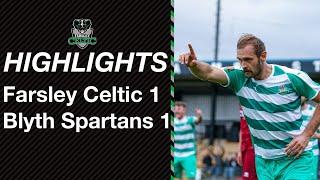 Highlights: Farsley Celtic 1-1 Blyth Spartans