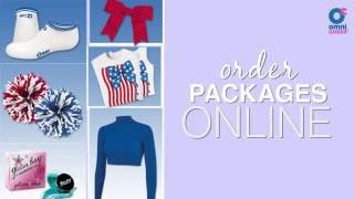 Experience Online Package Ordering from Omni Cheer