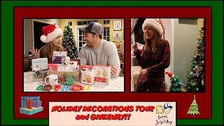 Our Holiday Decorations Tour and Baking Basket Giveaway!! thumbnail