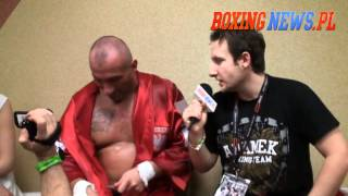 Wywiad - Najman po walce z Hardkorowym Koksem (27.04.12) 2017 Video