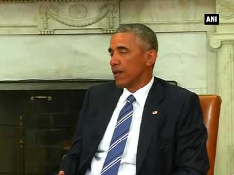 PM Modi meets U.S. President Obama (Part 2) - ANI News