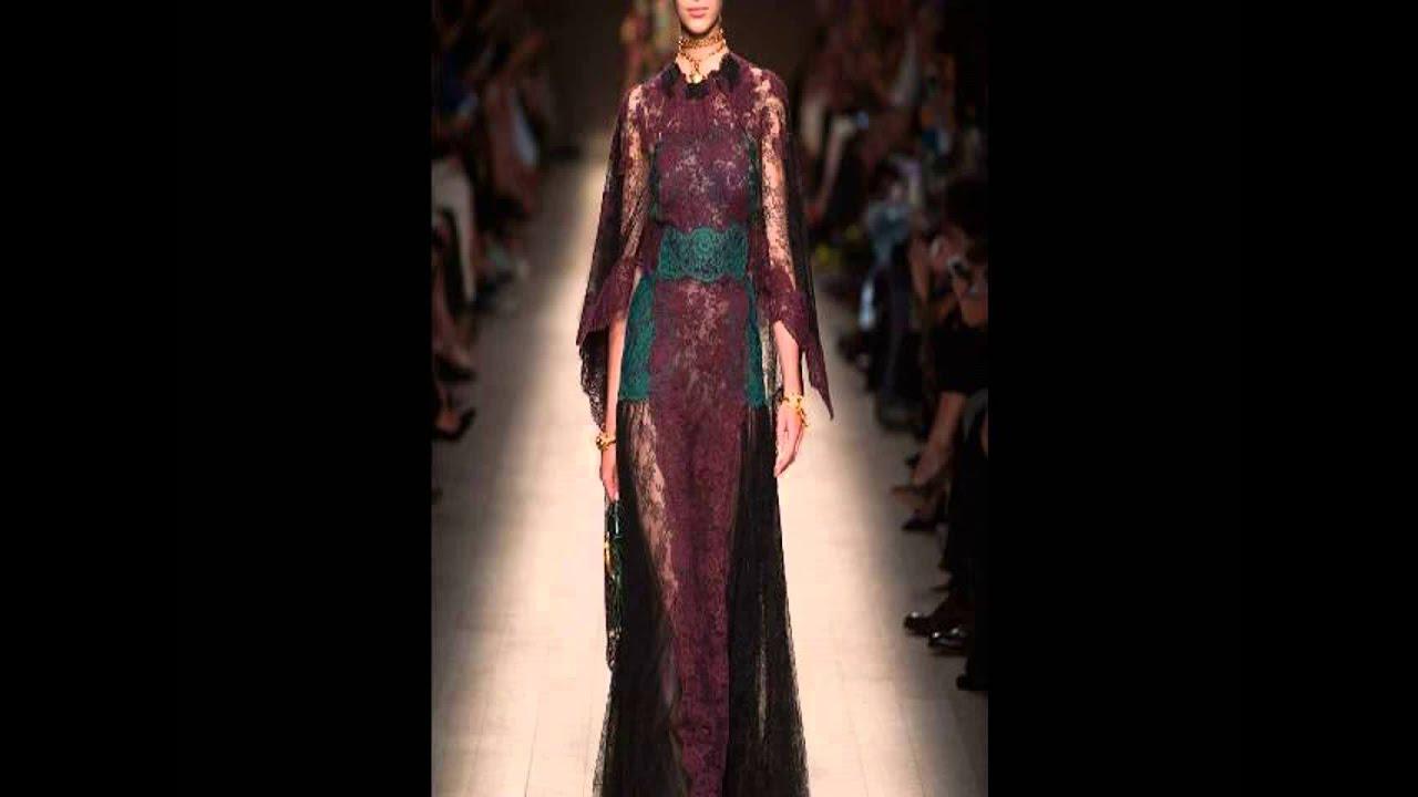 Кружевные платья 2014 фото - YouTube
