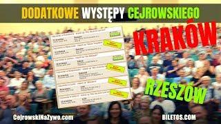 KRAKÓW i RZESZÓW! Cejrowski zaprasza na DODATKOWE występy!