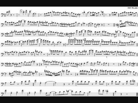 Mark Nightingale 'As Catch Can' Trombone Solo Transcription