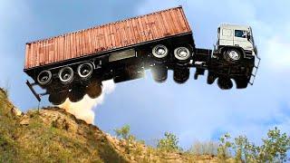 Top 10 Extreme Dangęrous Idiots Truck Fails Compilation 2021 ! Crazy Heavy Equipment Drive skills