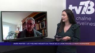 Yvelines | Paris-Mantes : les Yvelines inquiets du tracé de la ligne nouvelle Paris-Normandie