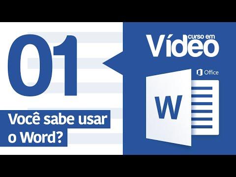Curso Word #01 - Apresentação do Curso de Word 2016