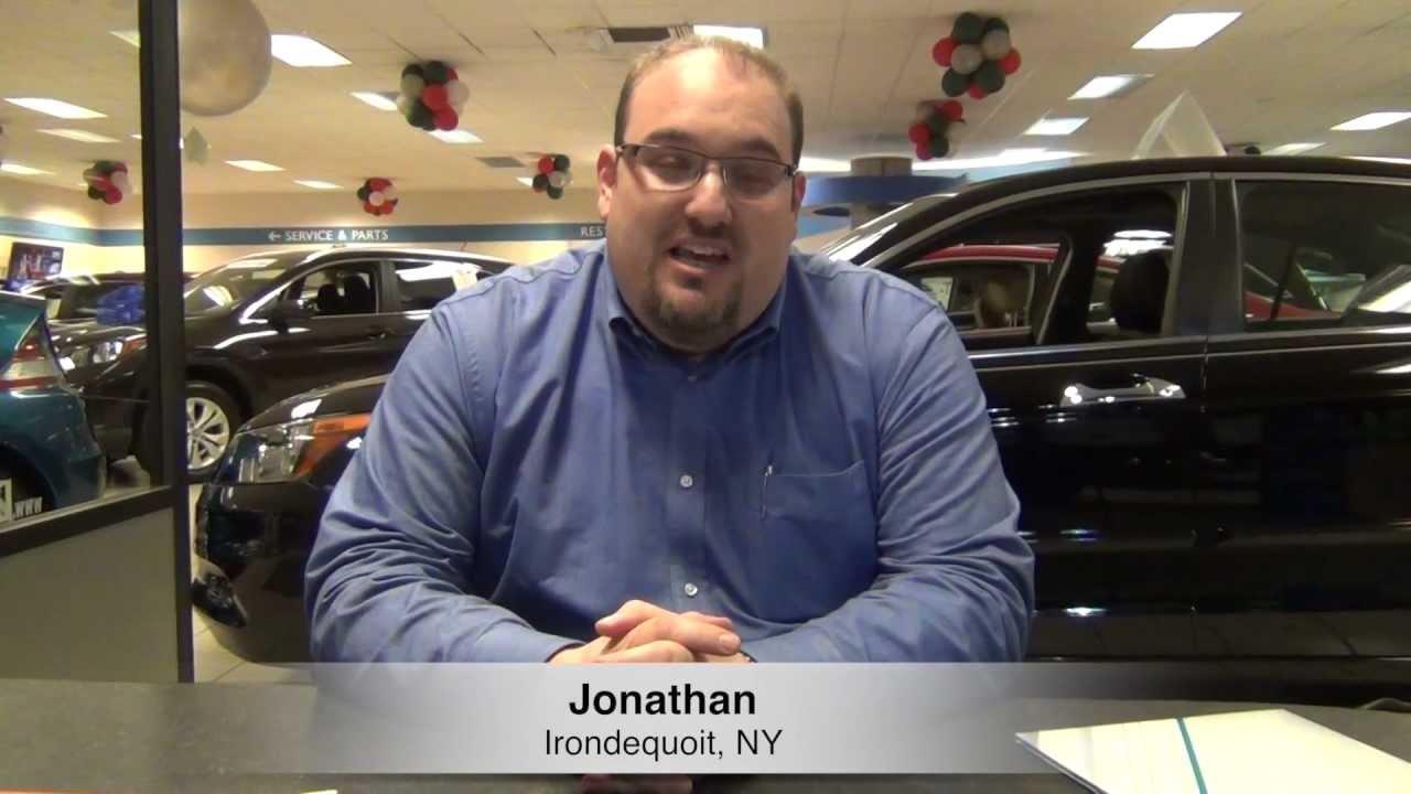 Customer Testimonial: Jonathan   2013 Civic   Dick Ide Honda, Rochester NY  Dealer Review