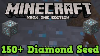Minecraft Xbox One Seed: 150 Diamonds (+ Village At Spawn, Flat land)