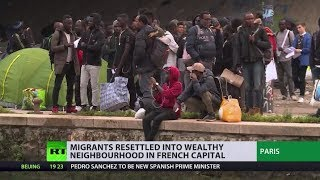 Migrants moved to wealthy Paris neighbourhood, what do locals think? thumbnail