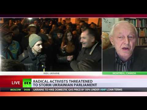 MICHEL CHOSSUDOVSKY exclusive interview with RT international