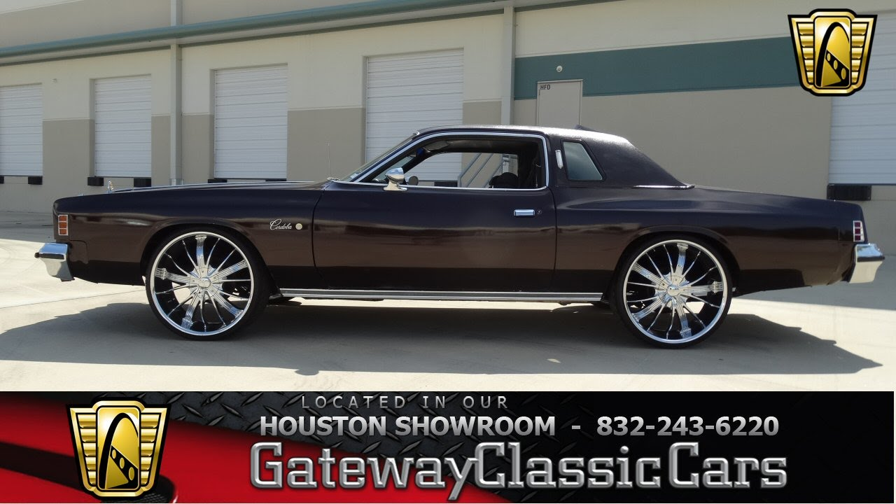 1976 Chrysler Cordoba Gateway Classic Cars of Houston stock 414 HOU ...