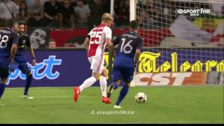 Άγιαξ - ΠΑΟΚ 1-1 | AFC Ajax vs PAOK FC 1-1 Highlights - Champions League {26/7/2016}