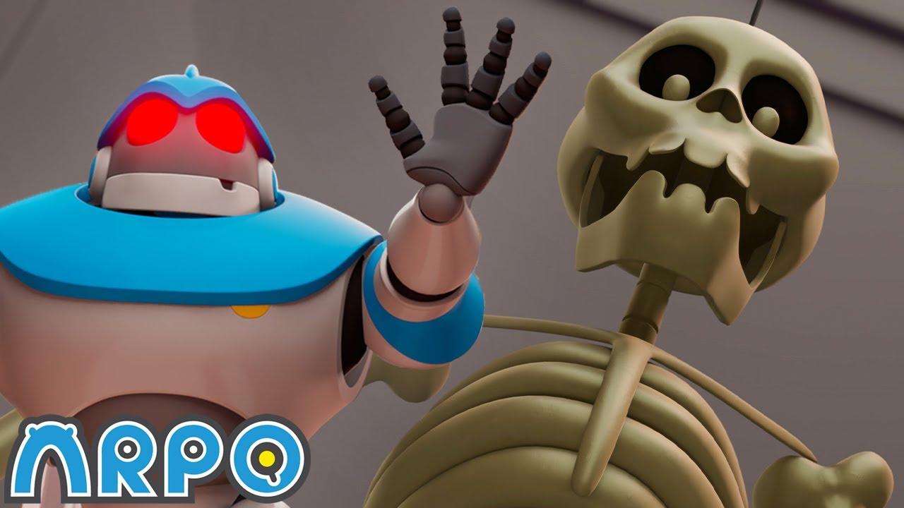 Download Arpo Robot Babysitter   Arpo's Evil Twin   Amazon Kids+ Original   Funny Cartoons for Kids