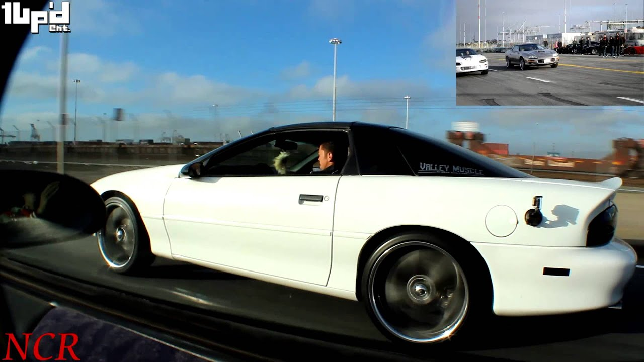 TURBO LT1 vs Supercharged LS1 (Police Show up)