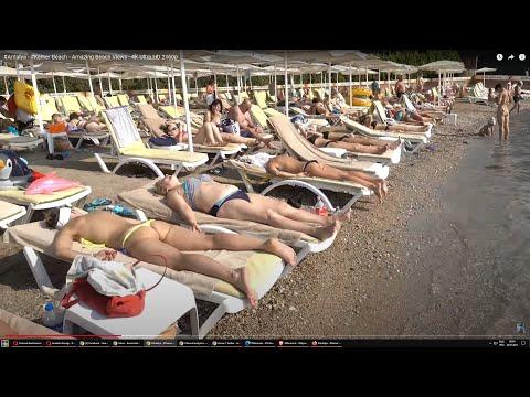 Antalya - Kemer Beach - Summer 2018 - 4K Ultra HD