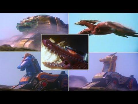 Mighty Morphin Power Rangers - The Thunder Zords | Episode 2