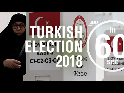 Turkish presidential election 2018 | IN 60 SECONDS