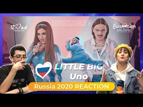 Russia Eurovision 2020 Reaction    Little Big - UNO