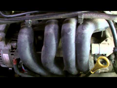 FORD FOCUS PO171 ENGINE REPAIR, part 1