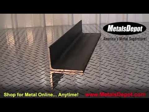 Metals Depot® - About A36 Steel Angle