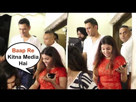 Ms Dhoni Wife Sakshi Shocked By Seeing...