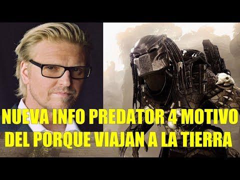 Nueva Info de Predator 4 El Motivo del Porque Viajan a la Tierra y Mas