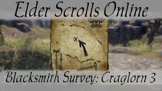 Blacksmith Survey Craglorn 3 [Elder Scrolls Online]
