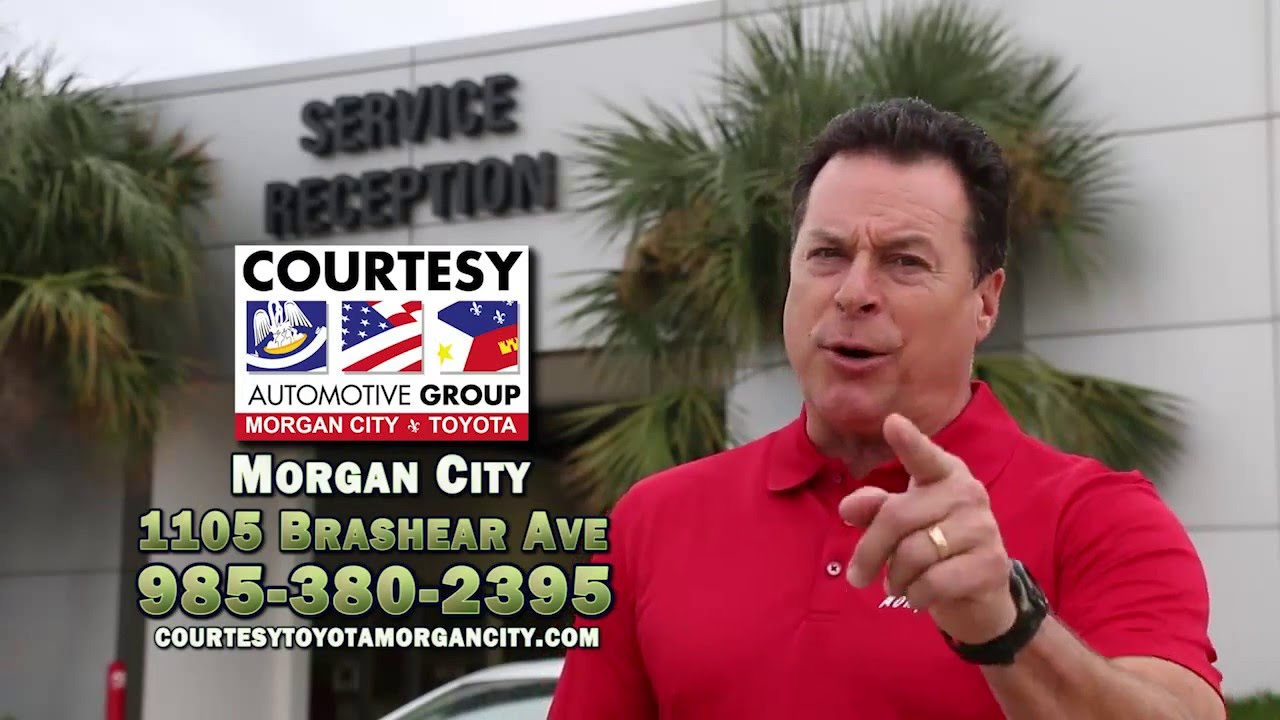 Courtesy Toyota Morgan City Service Video