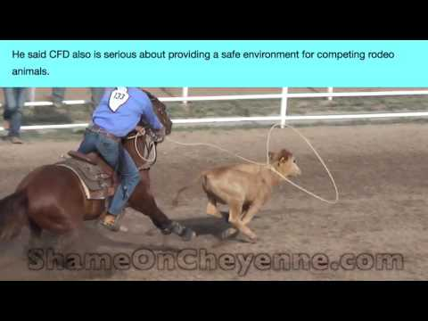 Cheyenne Media Promotes Cruel Rodeo