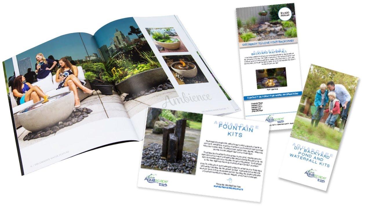 Vistaprint Tutorial for Aquascape Marketing Materials ...