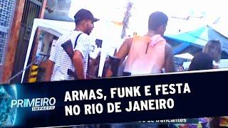 Baixar Traficantes dançam com fuzis em baile funk do Rio | Primeiro Impacto (13/09/19)
