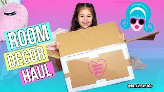 HUGE American Dream House Room Decor Haul UNBOXING tumblr room
