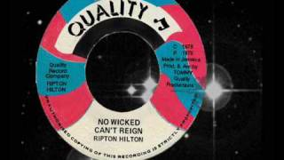 Ripton Hilton (Eek A Mouse) - No Wicked Can