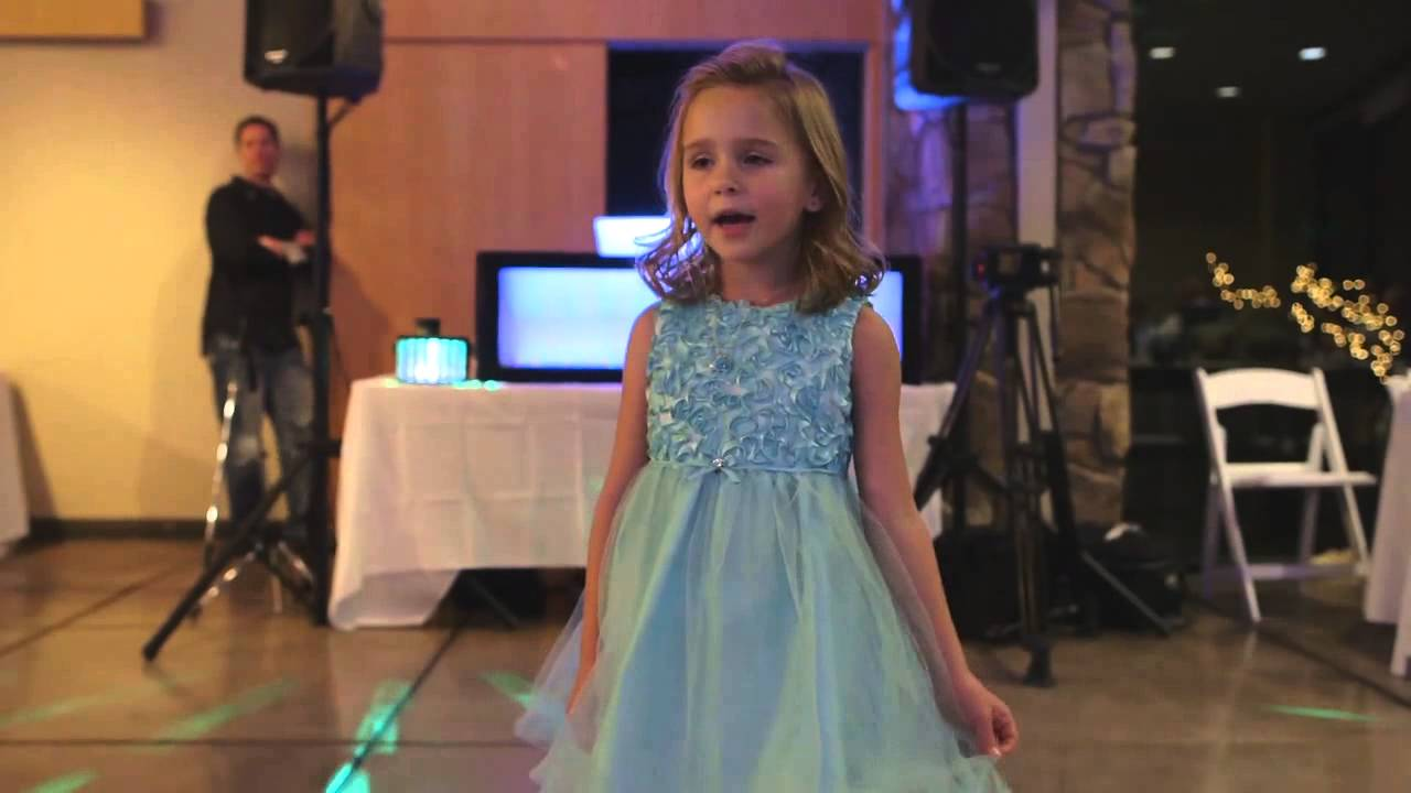Let It Go Sung By Little Girl