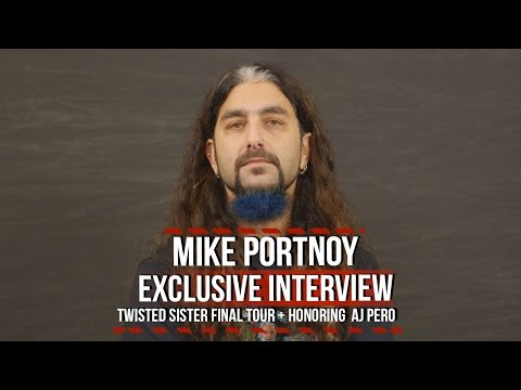 Mike Portnoy on Playing With Twisted Sister + Honoring A.J. Pero