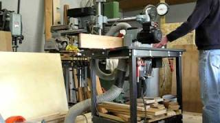 Climb Cutting Bead For Beaded Face Frame On Jessem Router Table