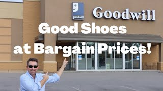 How to Find Higher Quality Shoes at Goodwill   Shopping for Shoes on a Budget