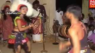 Repeat youtube video latest hot Karakattam Double Meaning Dialogues Dance Tamil Adal Padal hot dance sexy talk