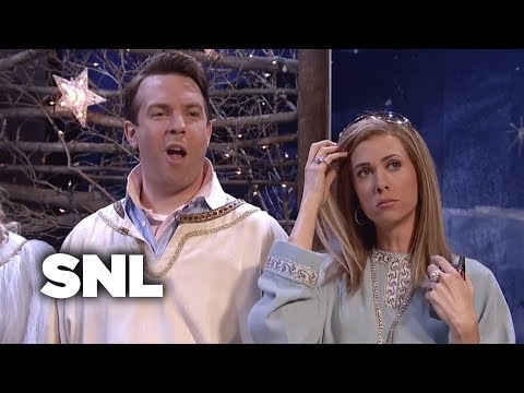Two A-Holes in a Live Nativity Scene - SNL