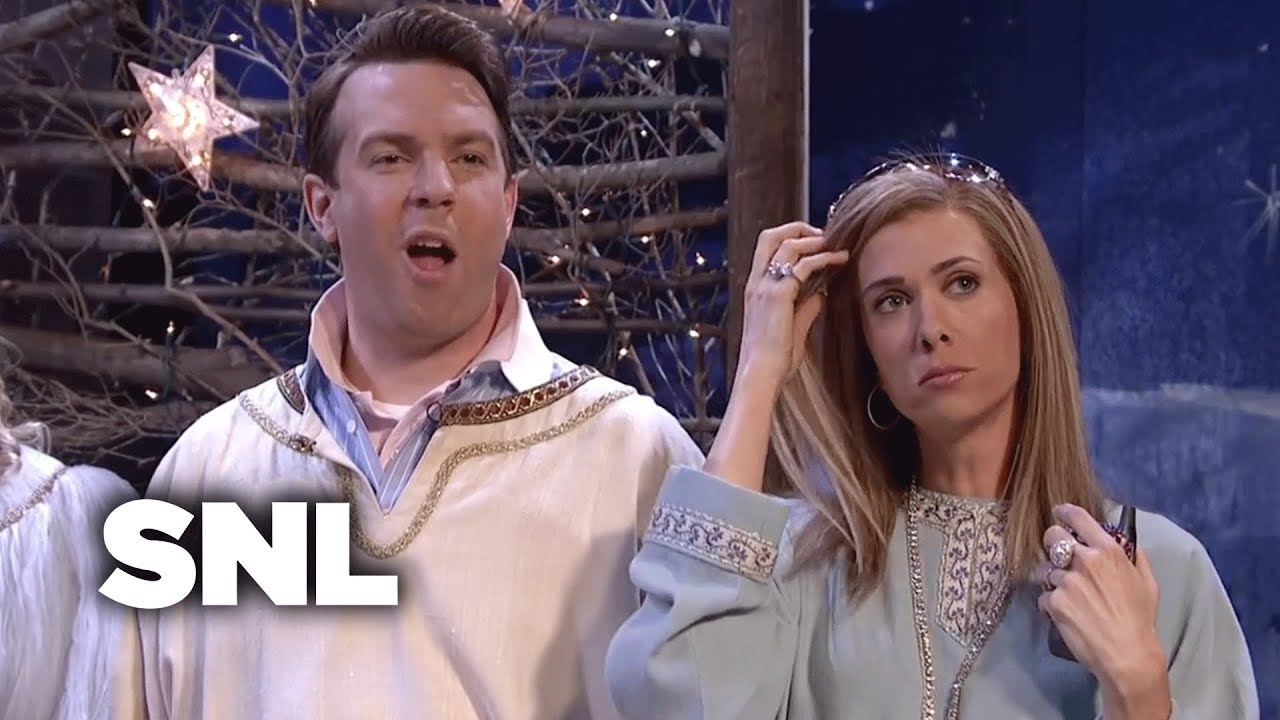 Two A Holes In A Live Nativity Scene Snl Youtube