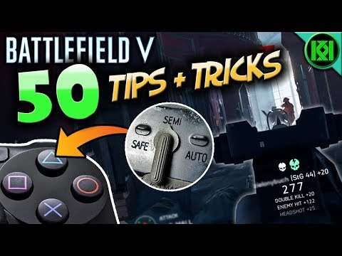 Battlefield V: 50 Tips, Tricks + Tactics to Improve, Win and Survive More   Battlefield 5 (BF5) thumbnail