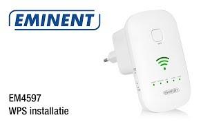 EM4597 WiFi Repeater -  WPS installatie