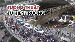 Dân Sài Gòn khóc thét vì kẹt xe do sập mái che ở hầm Thủ Thiêm